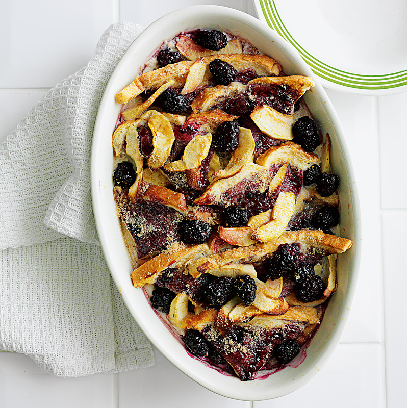 Photo of Apple & blackberry pudding by WW