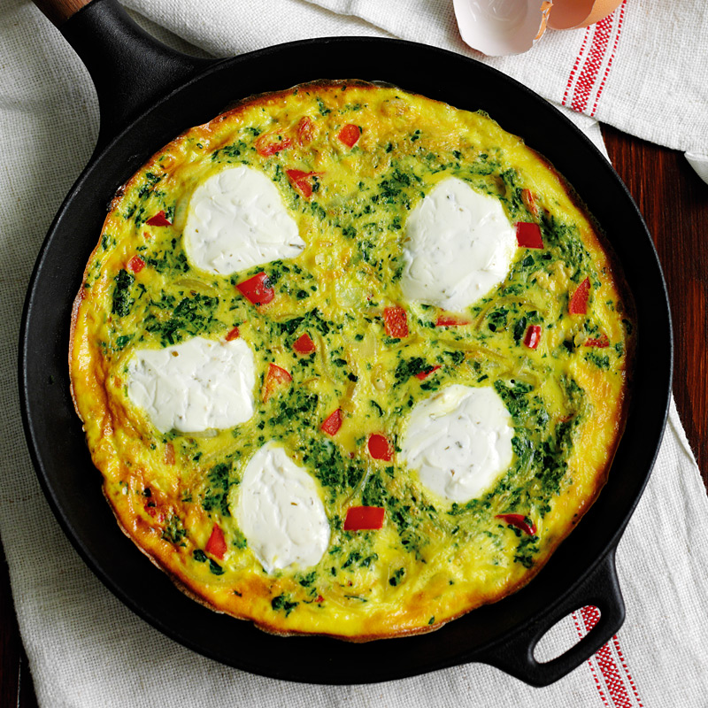 Photo of Spinach & soft cheese frittata by WW