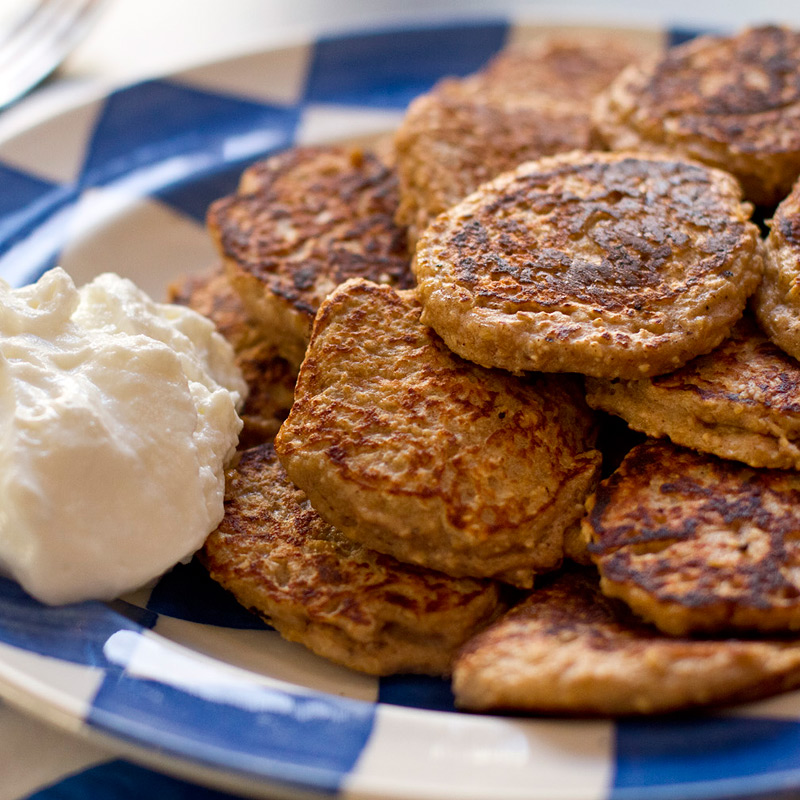 Extrem Spiced banana oatmeal pancakes | Healthy Recipe | Weight Watchers UK GW11