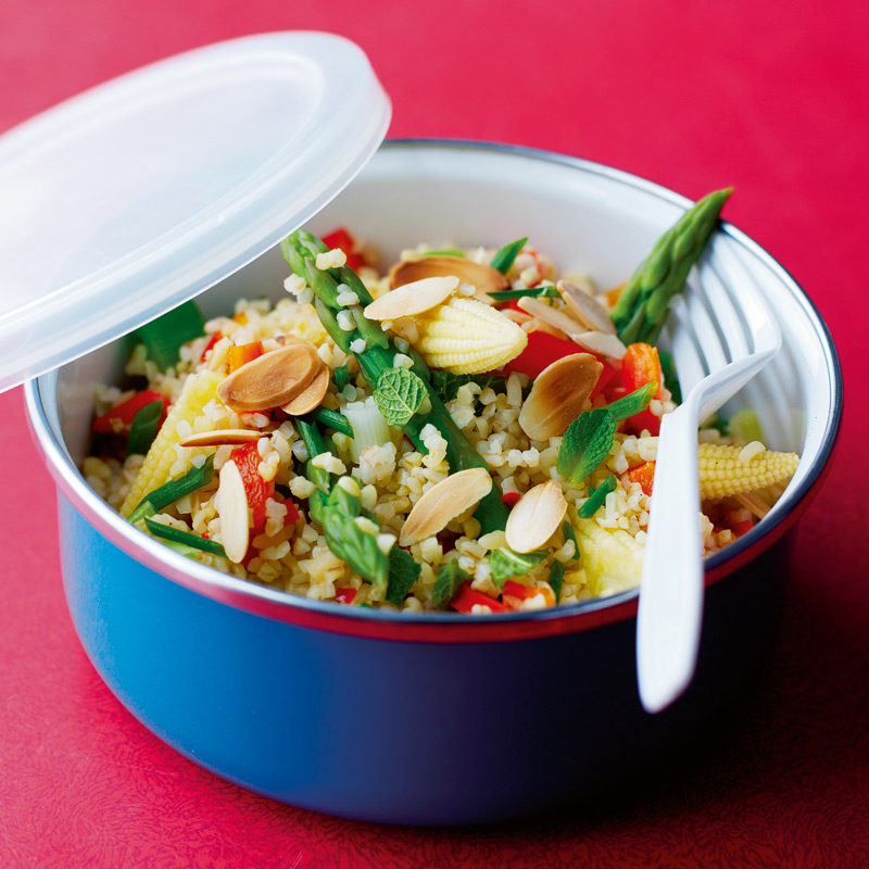 Photo of Bulgur salad with chilli & spring vegetables by WW