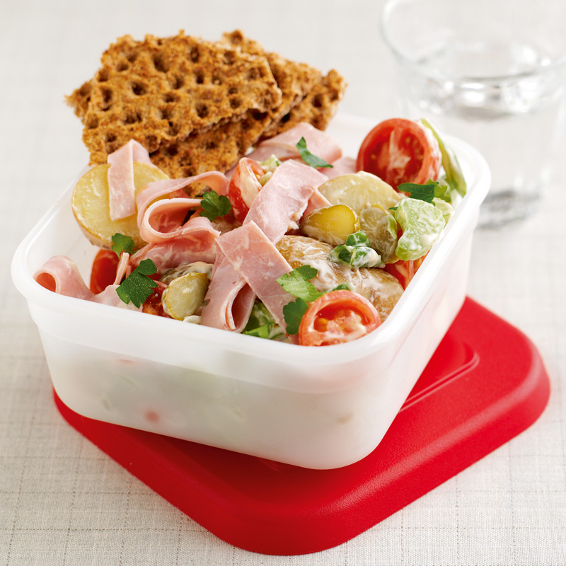 Photo of Ham & potato salad by WW
