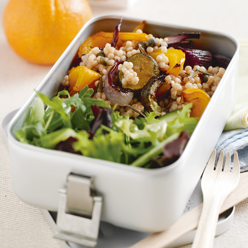Photo of Roasted vegetable & giant couscous salad by WW