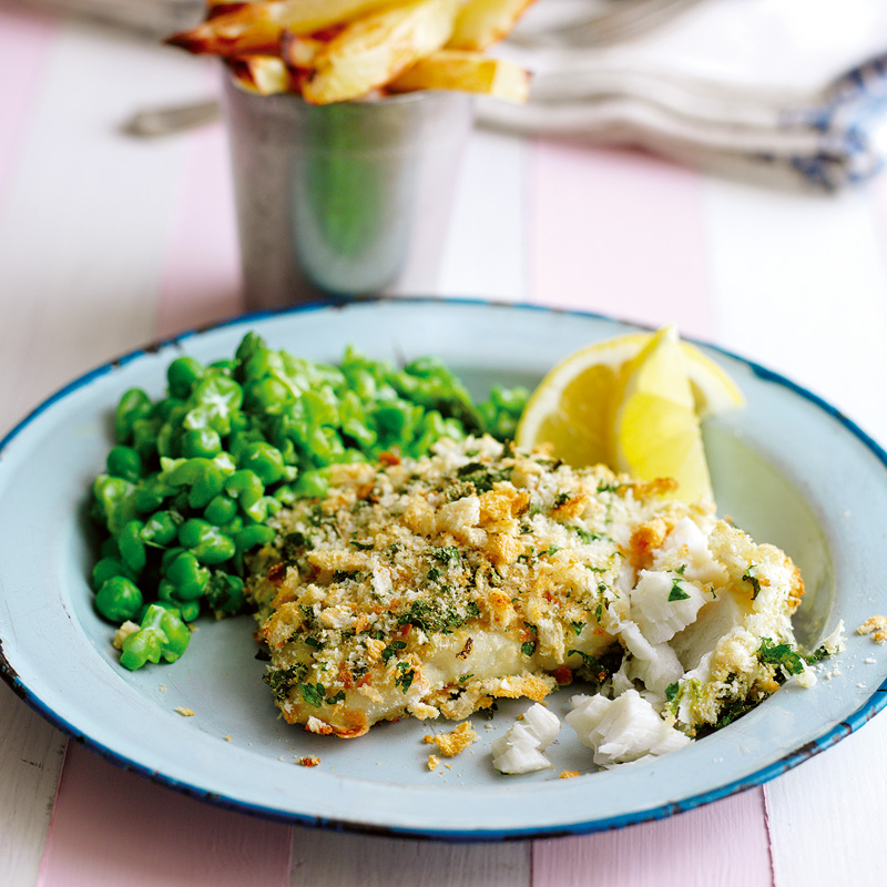 Photo of Fish, chips & mushy peas by WW