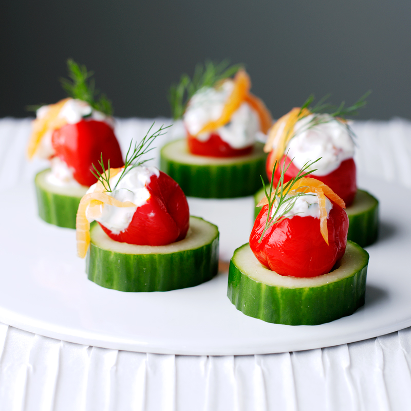 Photo of Soft cheese & salmon canapés by WW