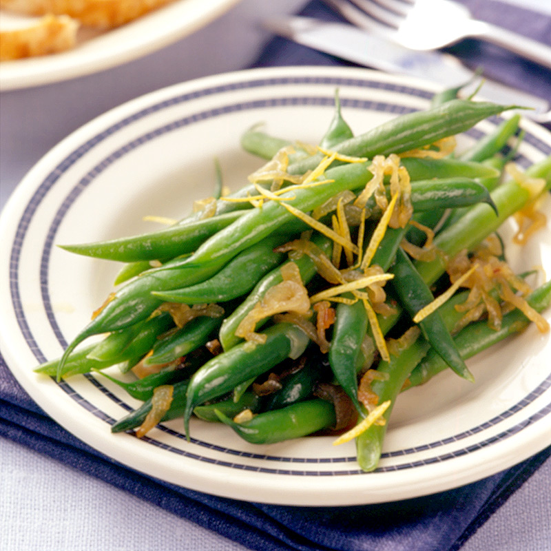 Photo of Green beans with caramelised shallots by WW