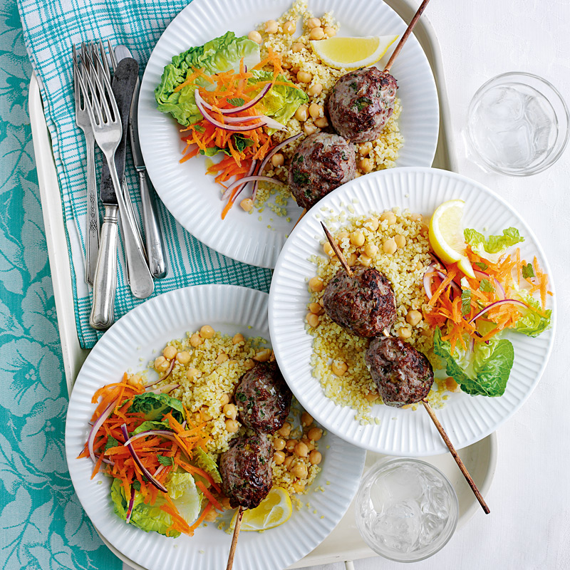Photo of Lamb kofte with carrot salad by WW
