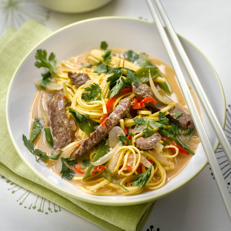 Photo of Thai chilli beef curry by WW