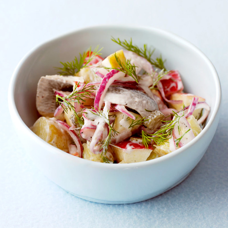 Photo of Herring, apple & dill salad by WW
