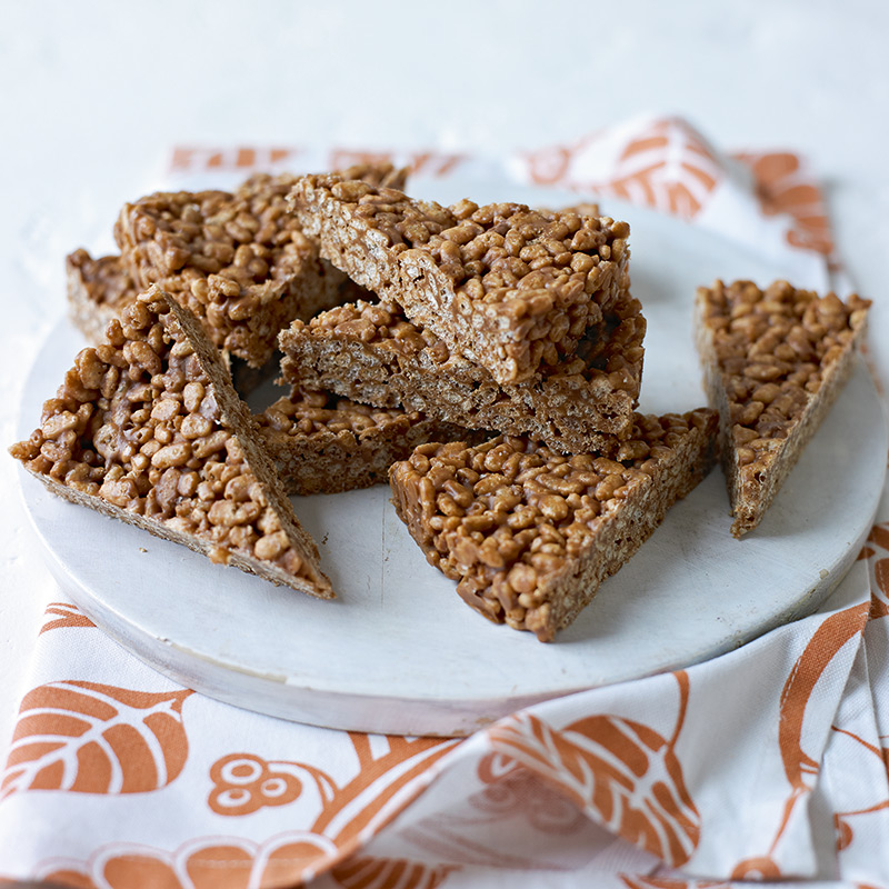 Extrem Peanut butter crispy treats | Healthy Recipe | Weight Watchers UK GW11