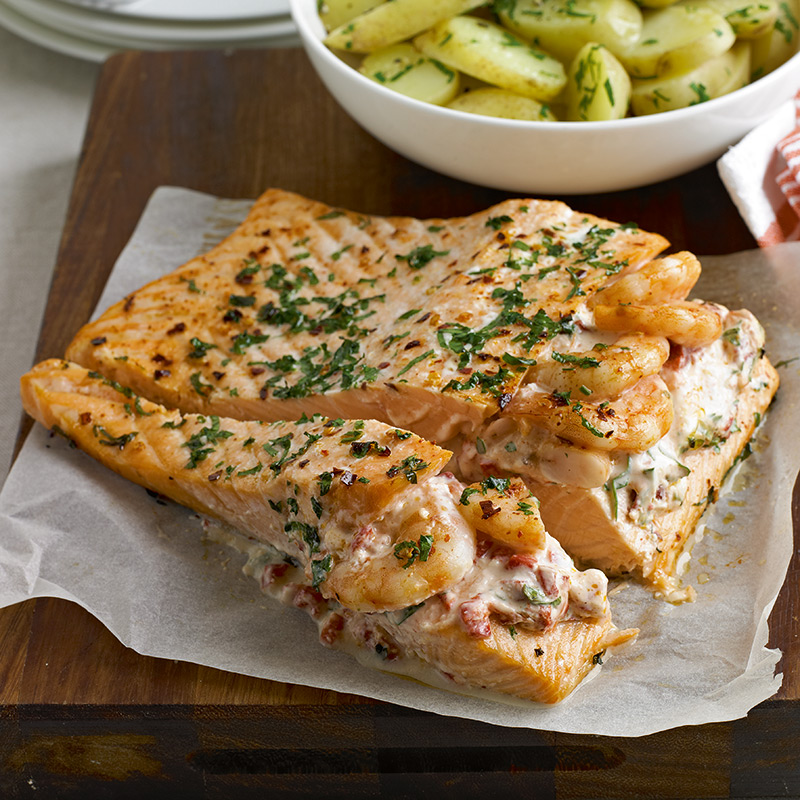 Baked Salmon And Prawn Recipes