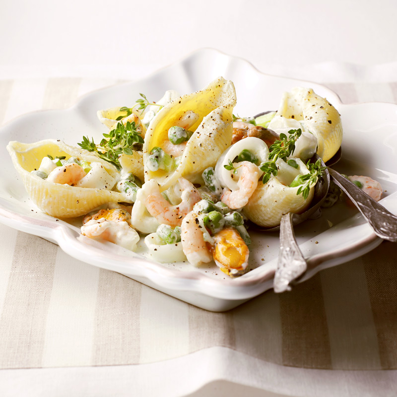 Photo of Seafood pasta shells by WW