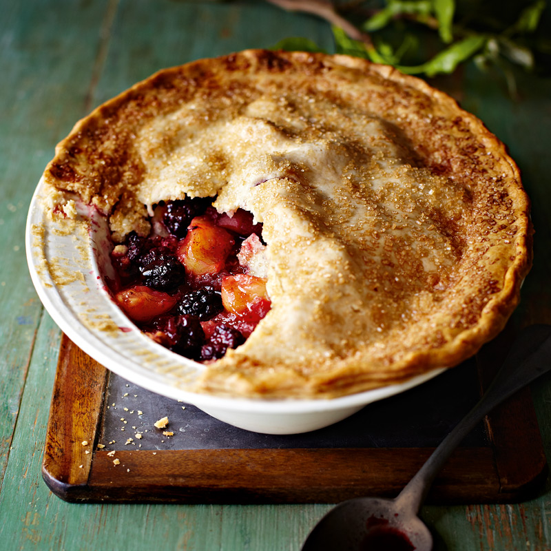 Photo of Apple & blackberry pie by WW