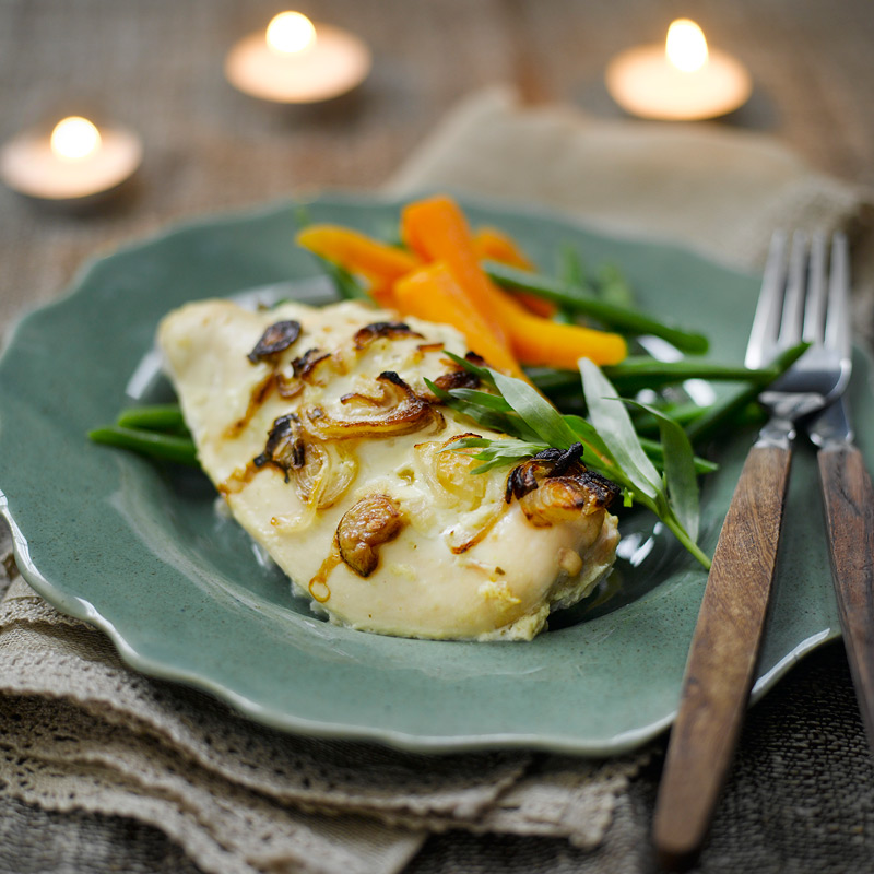 Photo of Chicken with white wine, shallots & tarragon by WW