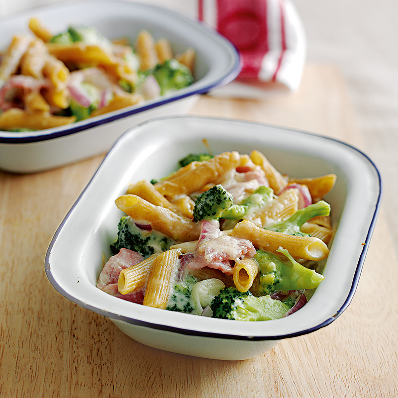 Photo of Cheese & bacon pasta bakes by WW