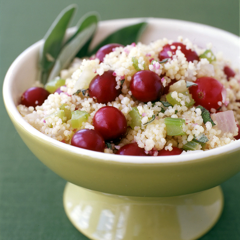 Photo of Cranberry-sage couscous stuffing by WW