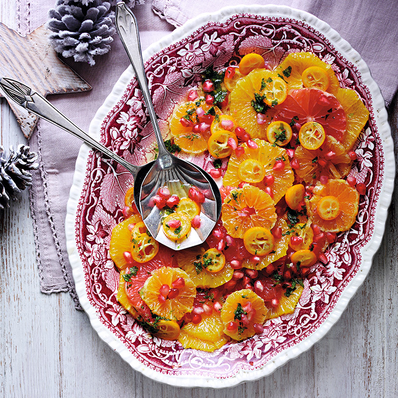 Photo of Jewelled citrus salad with lime & mint drizzle by WW