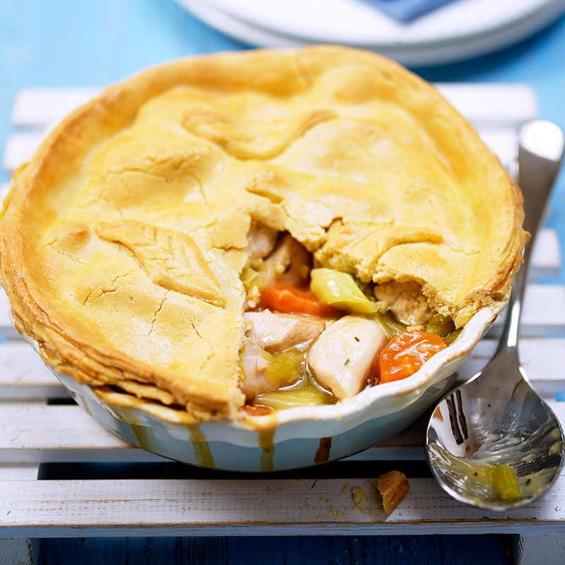 Gluten Free Chicken And Leek Pie