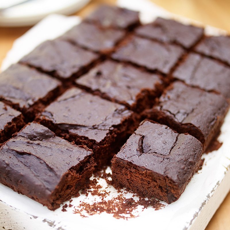 Photo of Gluten-free chocolate brownies by WW