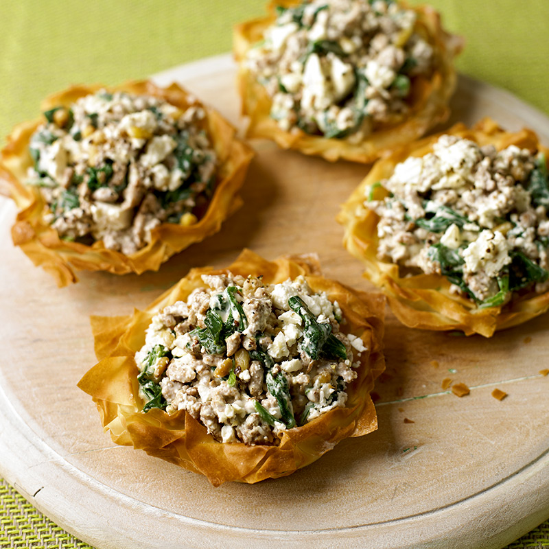 Photo of Spinach pork pies by WW