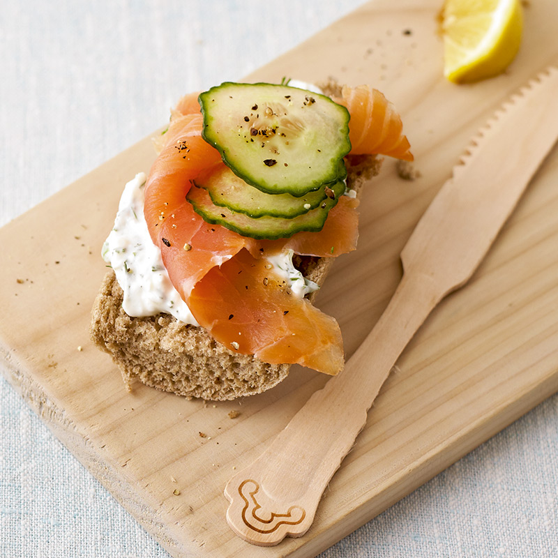 Photo of Creamy open smoked salmon sarnie by WW