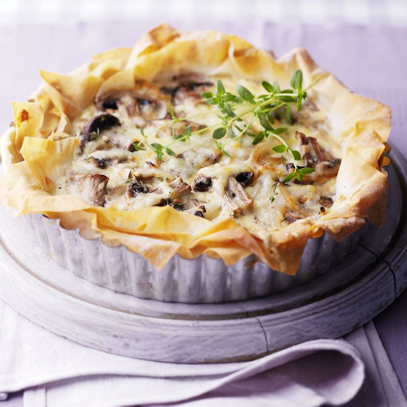 Photo of Mushroom & thyme quiche by WW