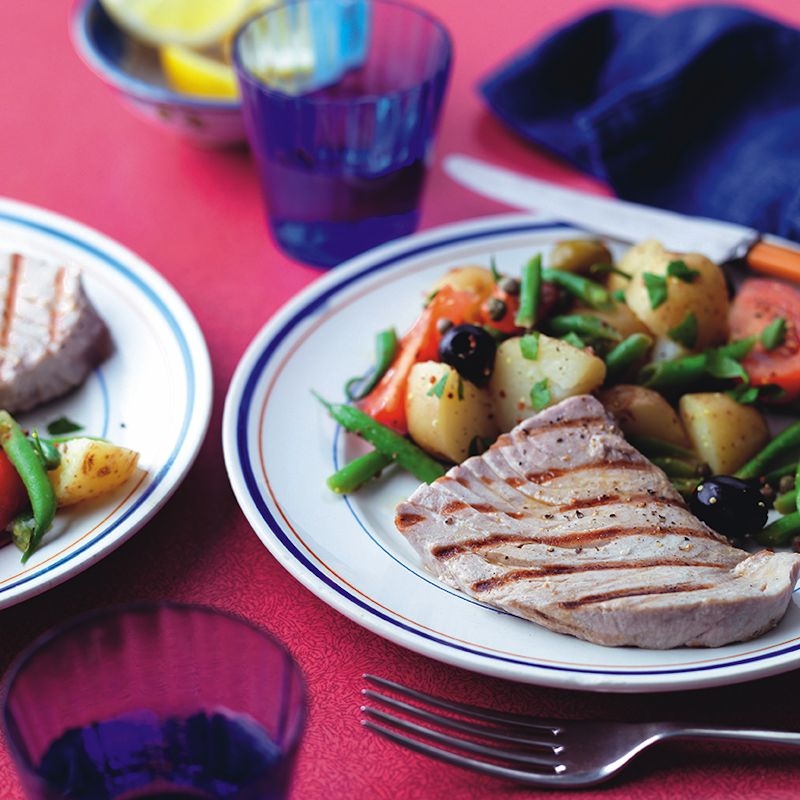 Photo of Seared tuna Niçoise by WW