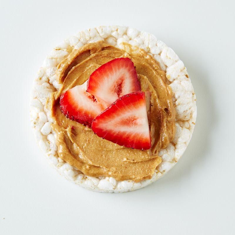 Photo of Peanut butter & strawberry rice cake by WW
