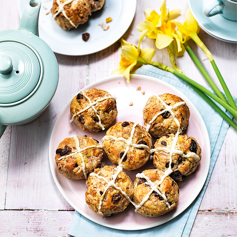 Photo of Gluten-free hot cross buns with apple by WW