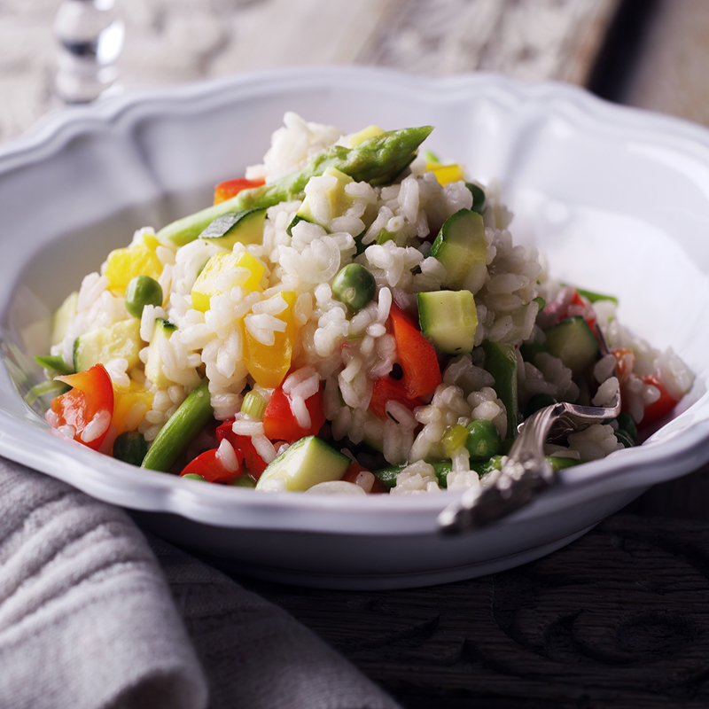 Photo of Summer vegetable risotto by WW