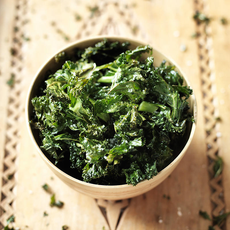 Photo of Kale crisps by WW