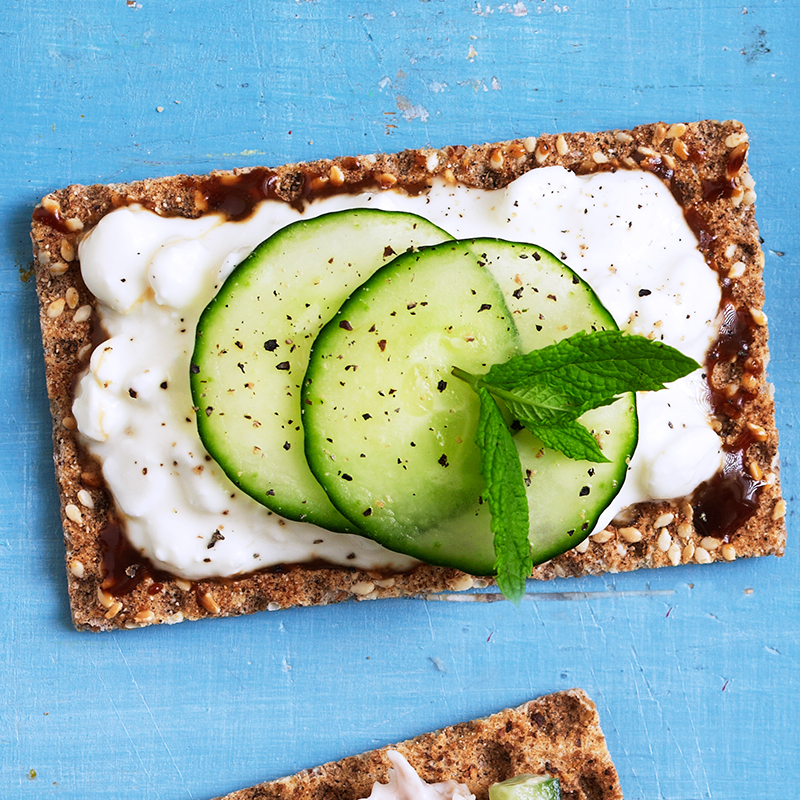 Photo of Cottage cheese & Marmite crispbreads by WW
