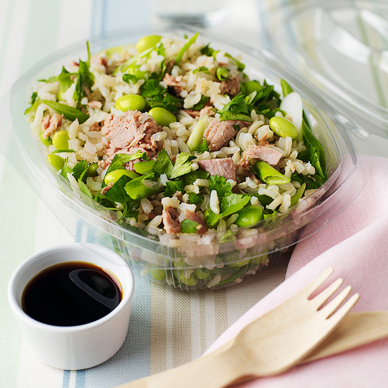 Photo of Tuna & rice salad with soya beans by WW