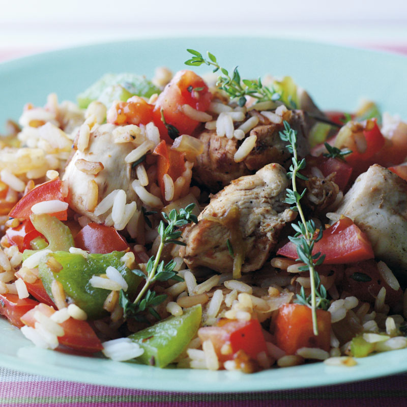 Chicken Jambalaya Healthy Recipe Ww Uk