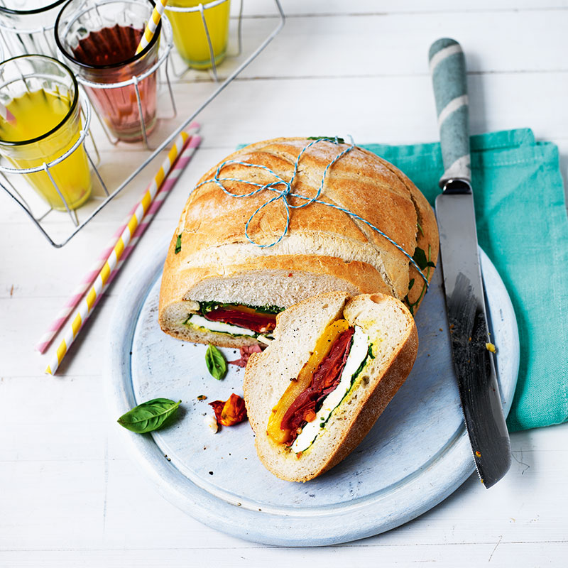 Photo of Stuffed picnic loaf by WW