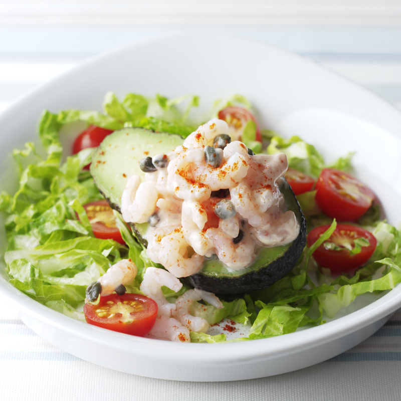 Photo of Avocado with prawns in seafood sauce by WW