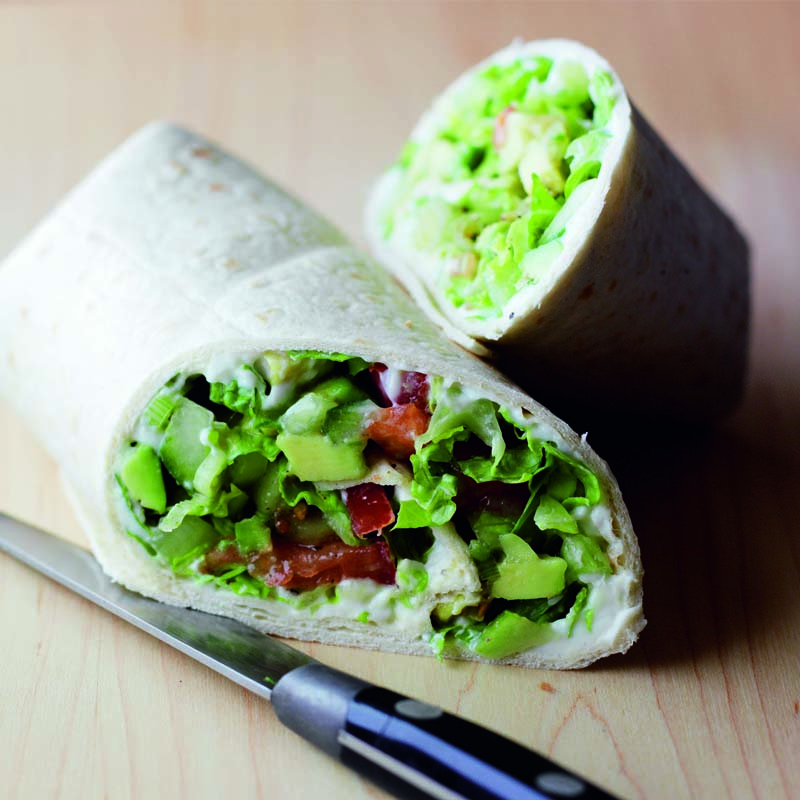 Photo of Avocado salsa wraps by WW