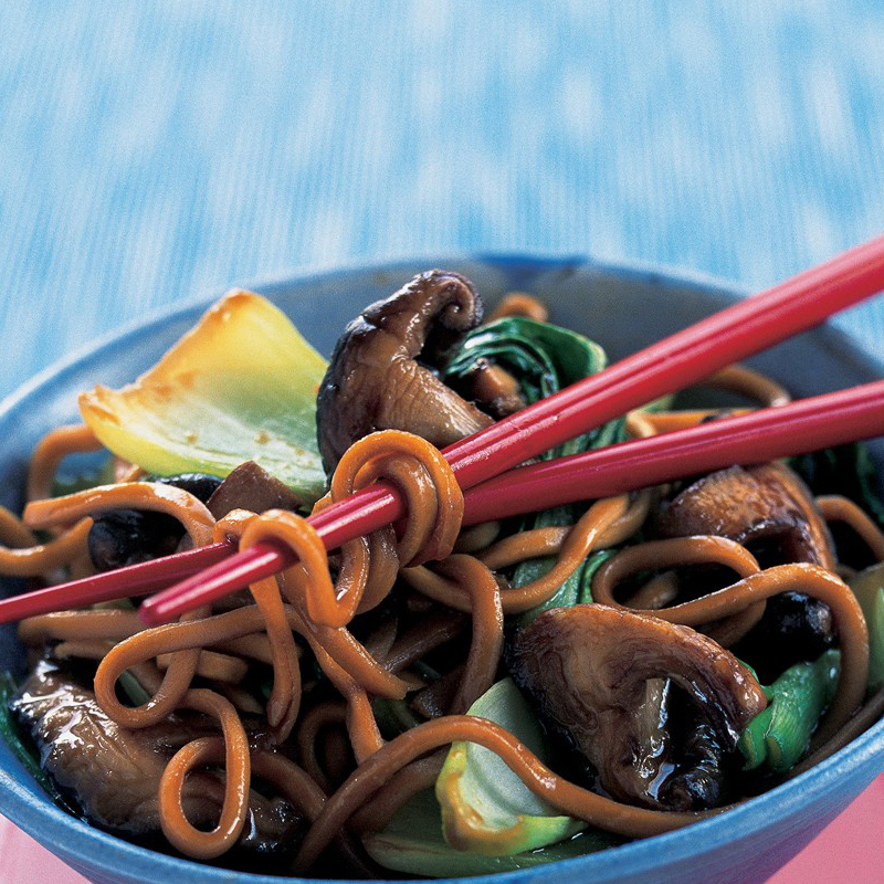 Photo of Japanese shiitake noodles by WW