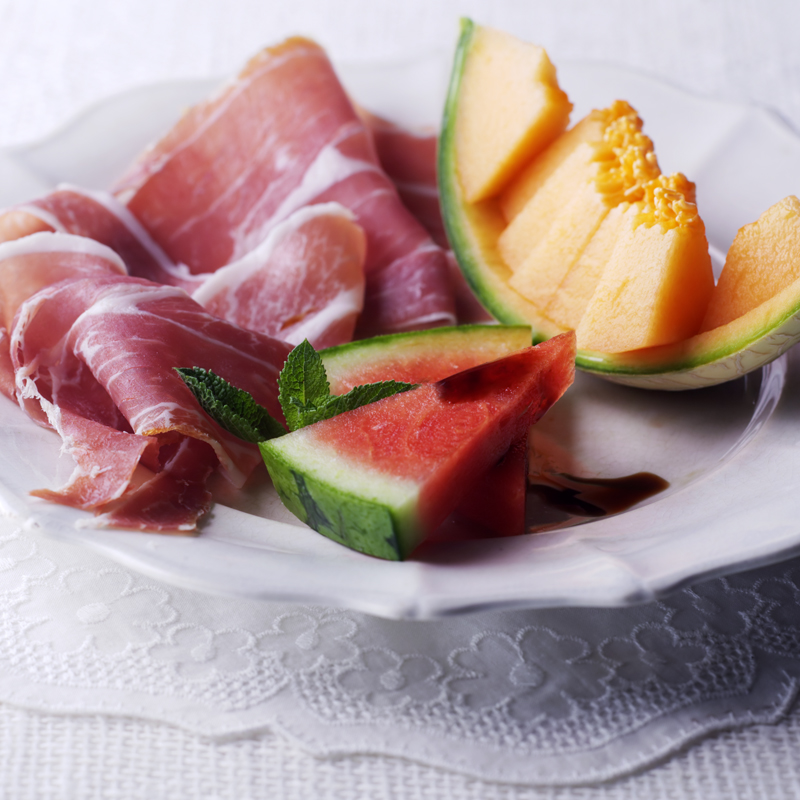 Photo of Melon & parma ham with balsamic drizzle by WW