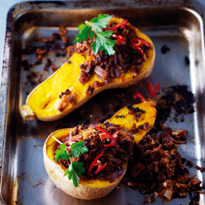 Photo of Roast butternut squash with chilli mince by WW