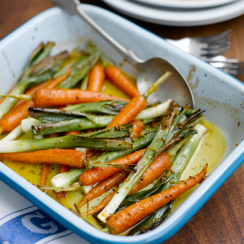 Photo of Roast veg with orange, honey & cumin glaze by WW