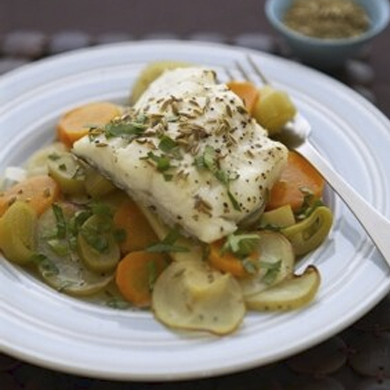 Photo of Root vegetable & haddock bake by WW
