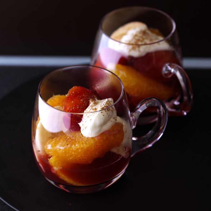 Photo of Spiced winter fruit salad by WW