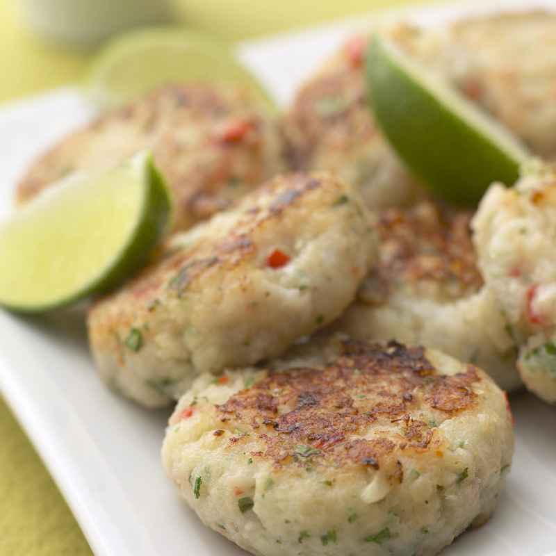 Photo of Spicy fish and prawn cakes by WW