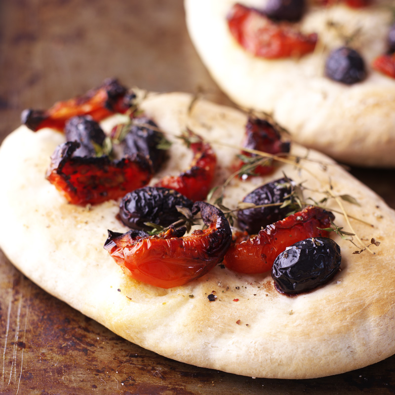 Photo of Sun blush tomato and rosemary flatbreads by WW