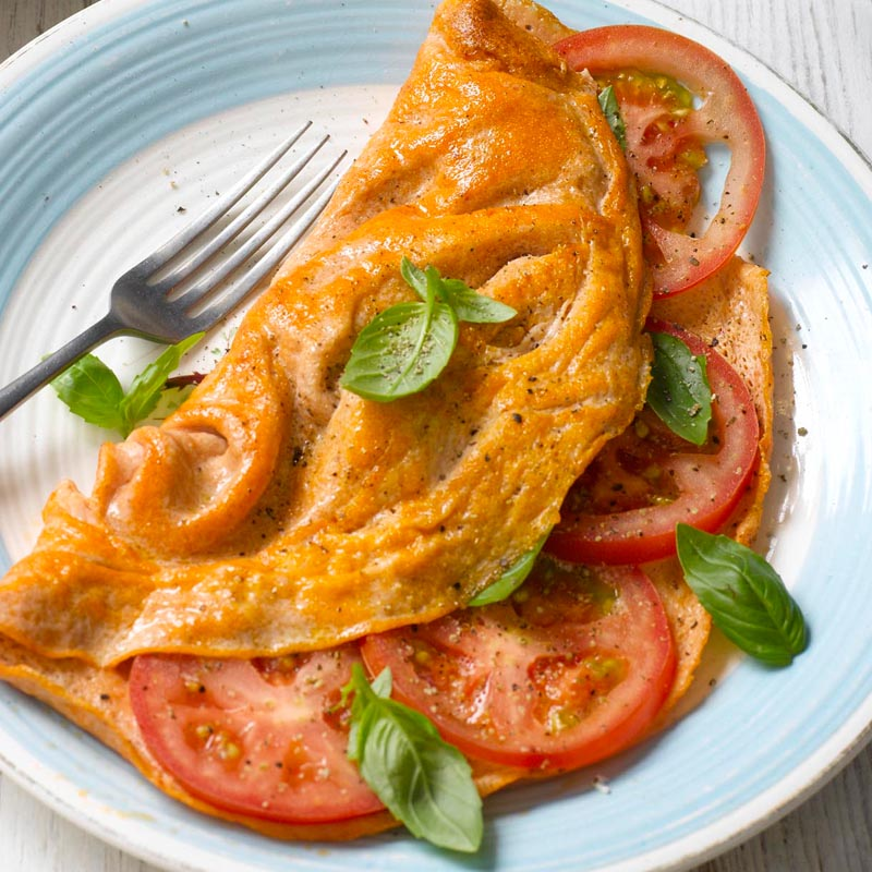 Photo of Tomato & basil omelette by WW