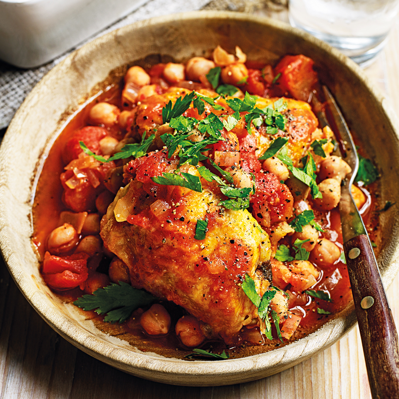 Photo of Harissa chicken chickpea casserole by WW