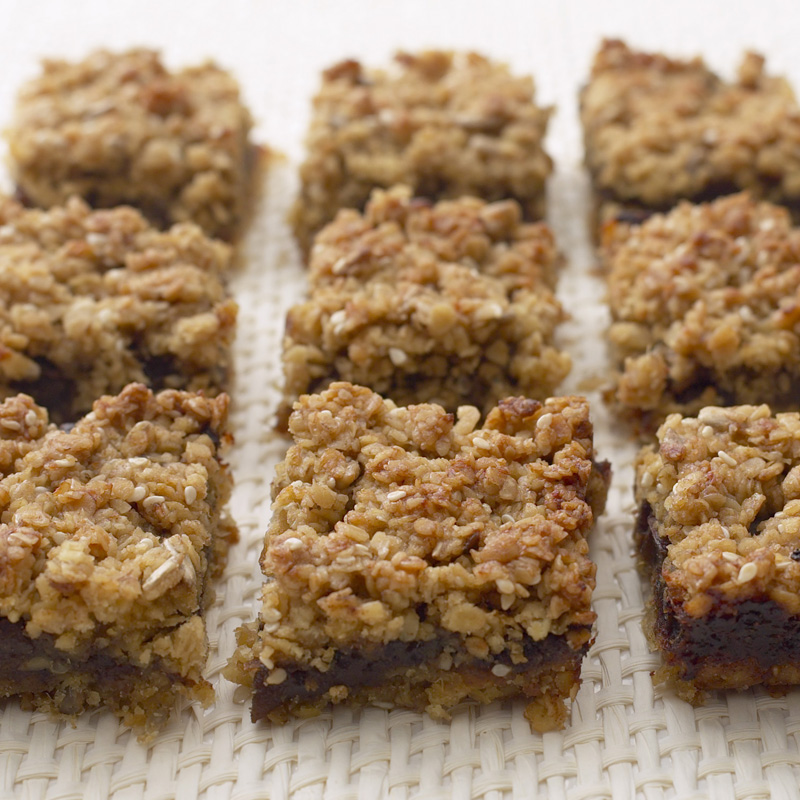Photo of Sticky date & oat flapjacks by WW