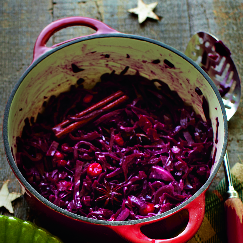 Photo of Spiced red cabbage with cranberries by WW