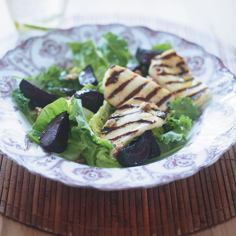 Photo of Warm beetroot, baby kale & halloumi salad by WW