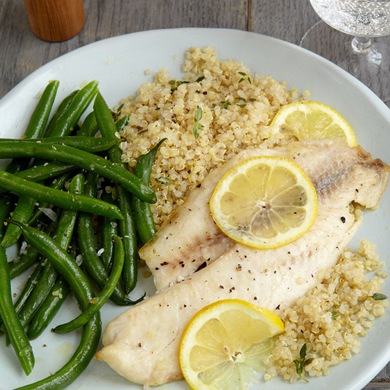 Photo of Baked fish and quinoa by WW